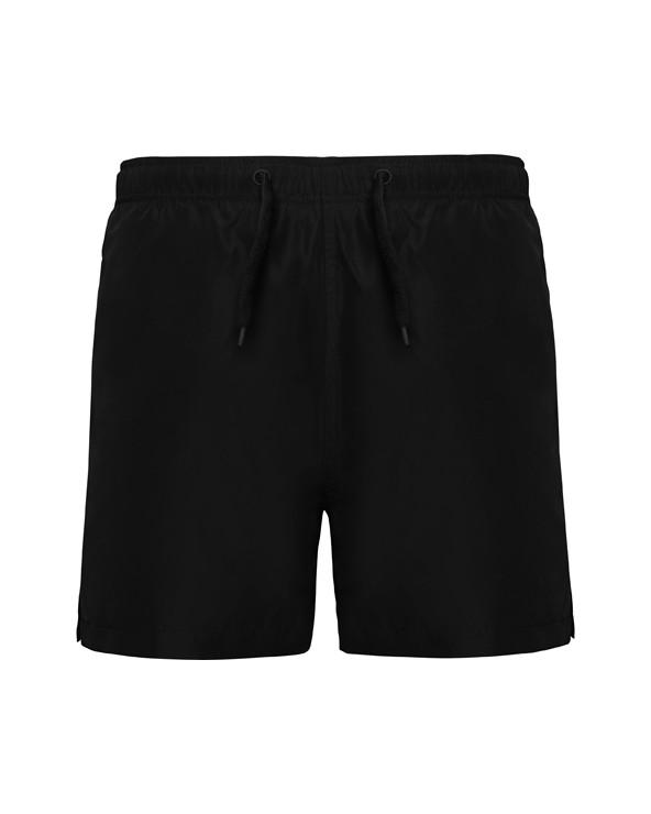 Bañador. 2 bolsillos laterales. Cordón ajustable al tono, bolsillo trasero con tapeta y ojal de desagüe. Apertura lateral. Pesp