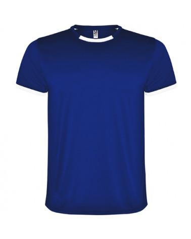 Conjunto deportivo unisex compuesto de 2 camisetas + 1 pantalón.  1.- Manga corta con vivo ancho en contraste. 2.- El color d
