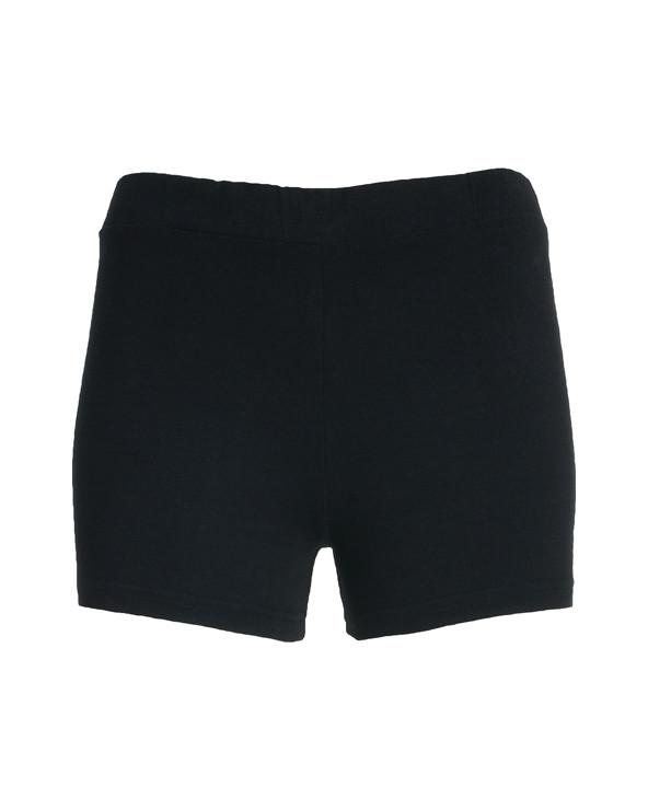 Pantalón corto con cinturilla elástica.
