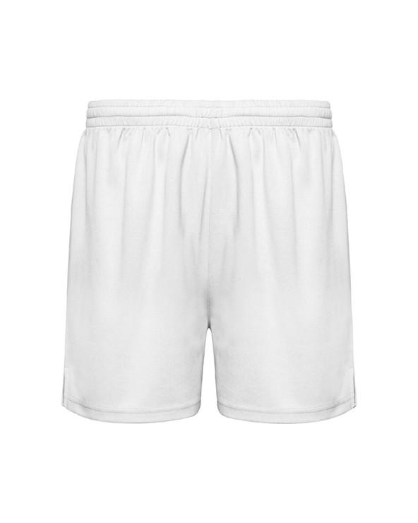 Pantalón corto deportivo sin slip interior, con cinturilla elástica ajustable con cordón.