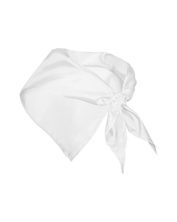 Pieza de tejido fino de forma triangular usada como accesorio en la indumentaria tanto masculina como femenina.   Medidas:  1