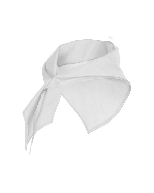 Pañuelo de forma triangular, usado como accesorio en la indumentaria tanto masculina como femenina.  Medidas:  100 x 50 cm (a