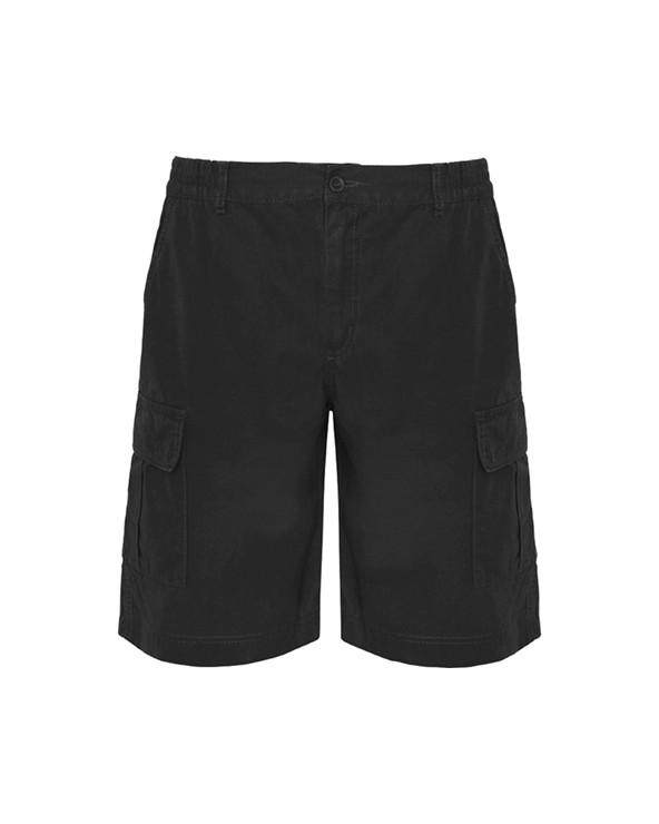 Bermuda. 1.- Cintura, elástico ajustable en laterales. 2.- Dos bolsillos frontales. 3.- Dos bolsillos laterales con tapeta,